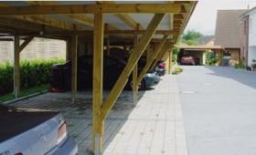 Carportanlage / Reihencarport