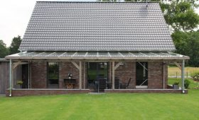 Terrassenüberdachung 10 mm VSG  Glas